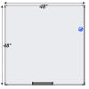 Meidi Millen Magnetic Whiteboard 4' x 4'