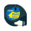 DYMO LetraTAG Plastic Tape - Yellow - SMOP91202