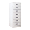 YMI 649 Card Record Cabinet with Twin Compartments
